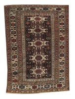 Antique Persian Shirvan Caucasus Rug