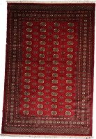 Traditional Pakistani Bokhara Rug