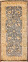 Traditional Afghan Oushak Rug