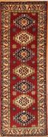 Traditional Afghan Kazak Rug