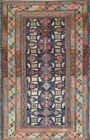 Antique Kuba Shirvan Caucasus Rug circa 1880