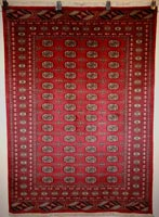 Traditional Pakistani Royal Bokhara Rug