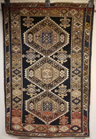 Antique Caucasian Shirvan Rug circa 1920