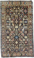 Antique Persian Saruk Rug