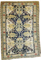 Antique Persian Shirvan Rug