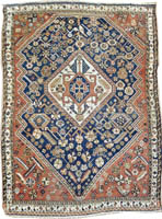 Antique Persian Kashkay Rug