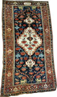 Antique Persian Luri Baktiari Rug