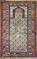 Antique Caucasian Daghestan Rug