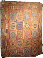 Traditional Afghan Flatweave